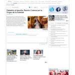 DIARIO INFORMACIÓN; Galardón al escultor Ramón Cuenca por la Virgen de la Soledad