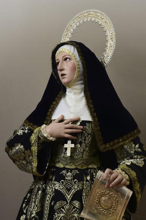 Santa Margarita Mª de Alacoque.