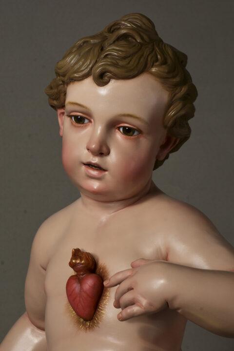 Niño Jesús del Sagrado Corazón.