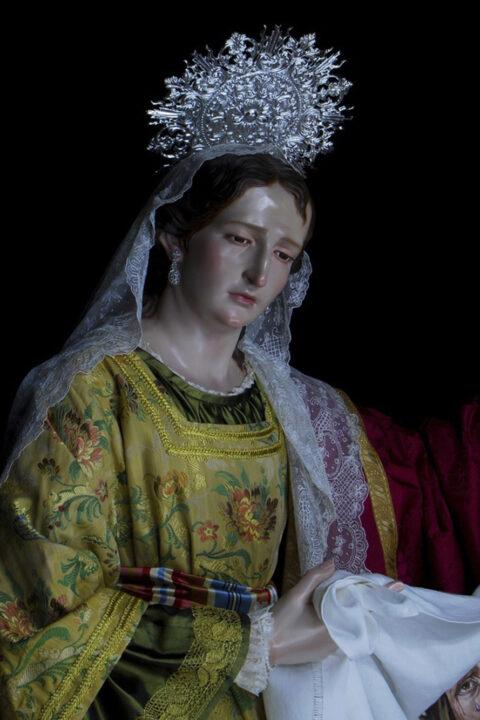 Santa Mujer Verónica.