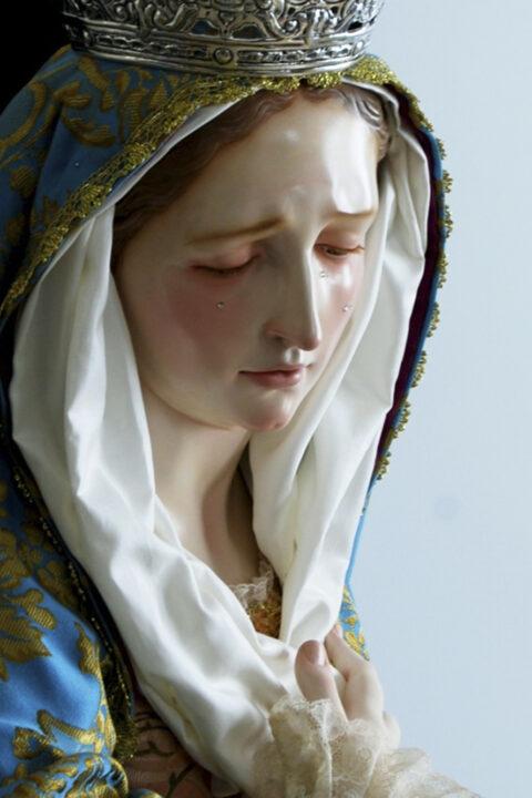 Ntra. Señora del Rosario en sus Misterios Dolorosos.